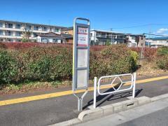 「立川七中」バス停留所