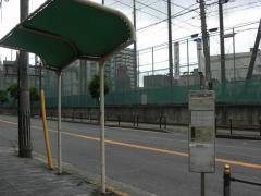 「あべの区役所前」バス停留所