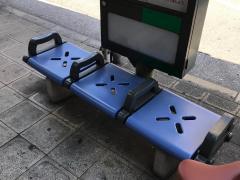 「九条新道」バス停留所