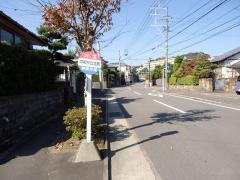 「平和が丘北町」バス停留所