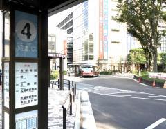 「武蔵境駅南口」バス停留所