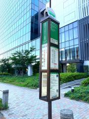 「東京ビッグサイト東棟前」バス停留所