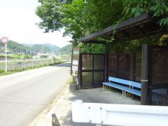 「下止々呂美」バス停留所
