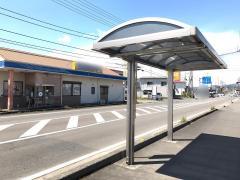 「下田分岐」バス停留所