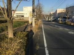 「砂口入口」バス停留所