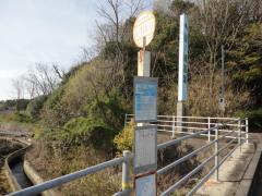 「湯ノ浦温泉入口」バス停留所