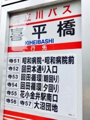 「喜平橋」バス停留所