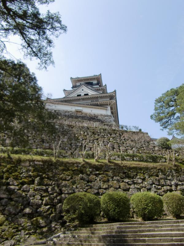 高知城です。