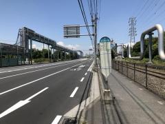 「日本触媒前」バス停留所