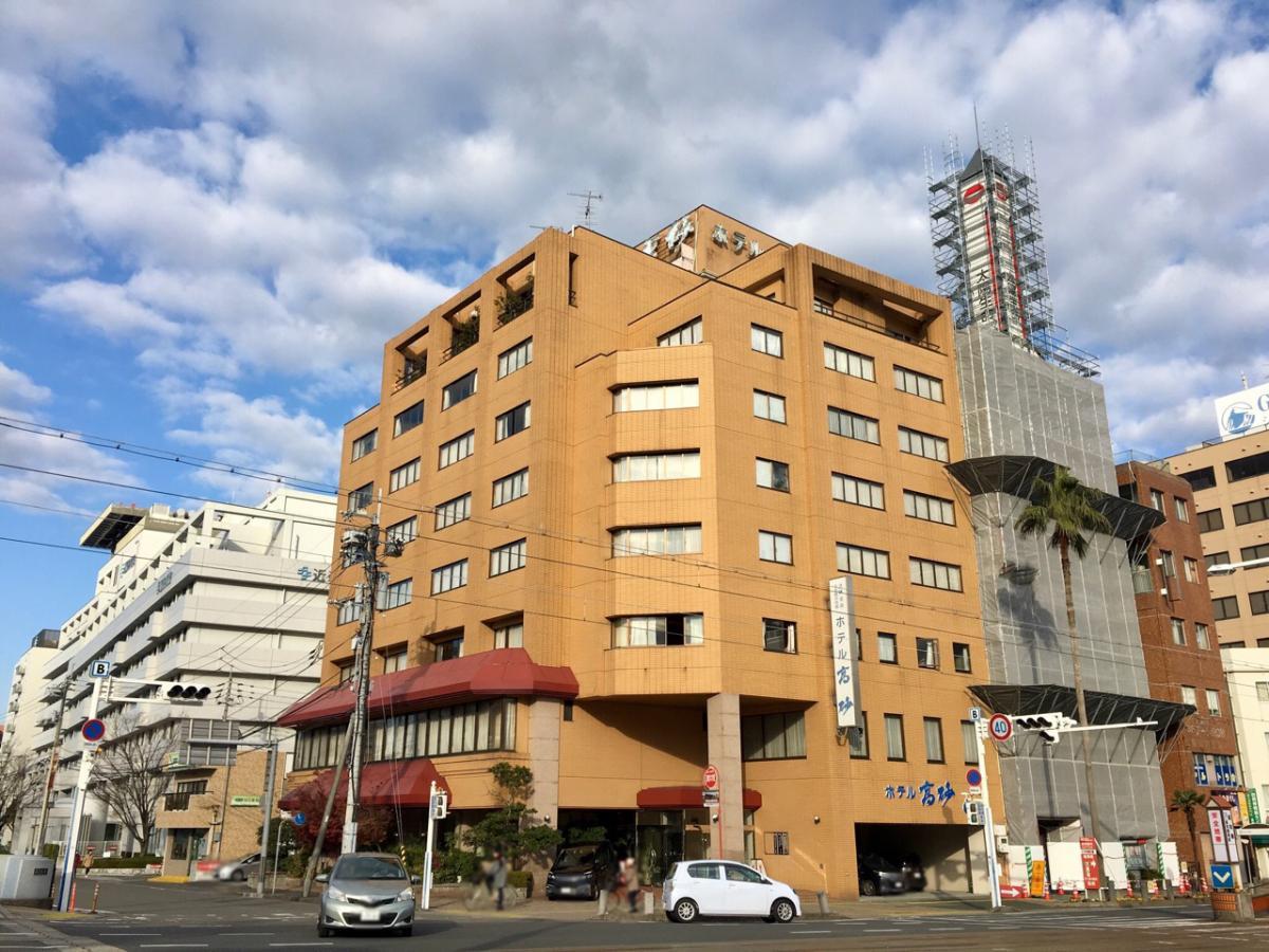 高知市内のホテル高砂に来ました。