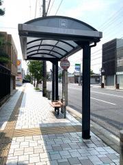 「徳王神社前」バス停留所
