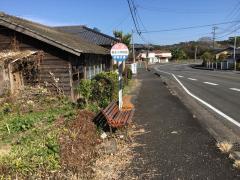 「森永小学校前」バス停留所