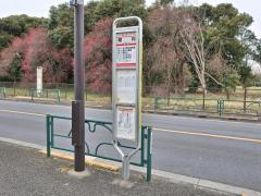 「堀向」バス停留所