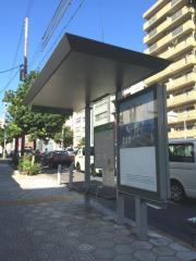 「上本町一丁目」バス停留所