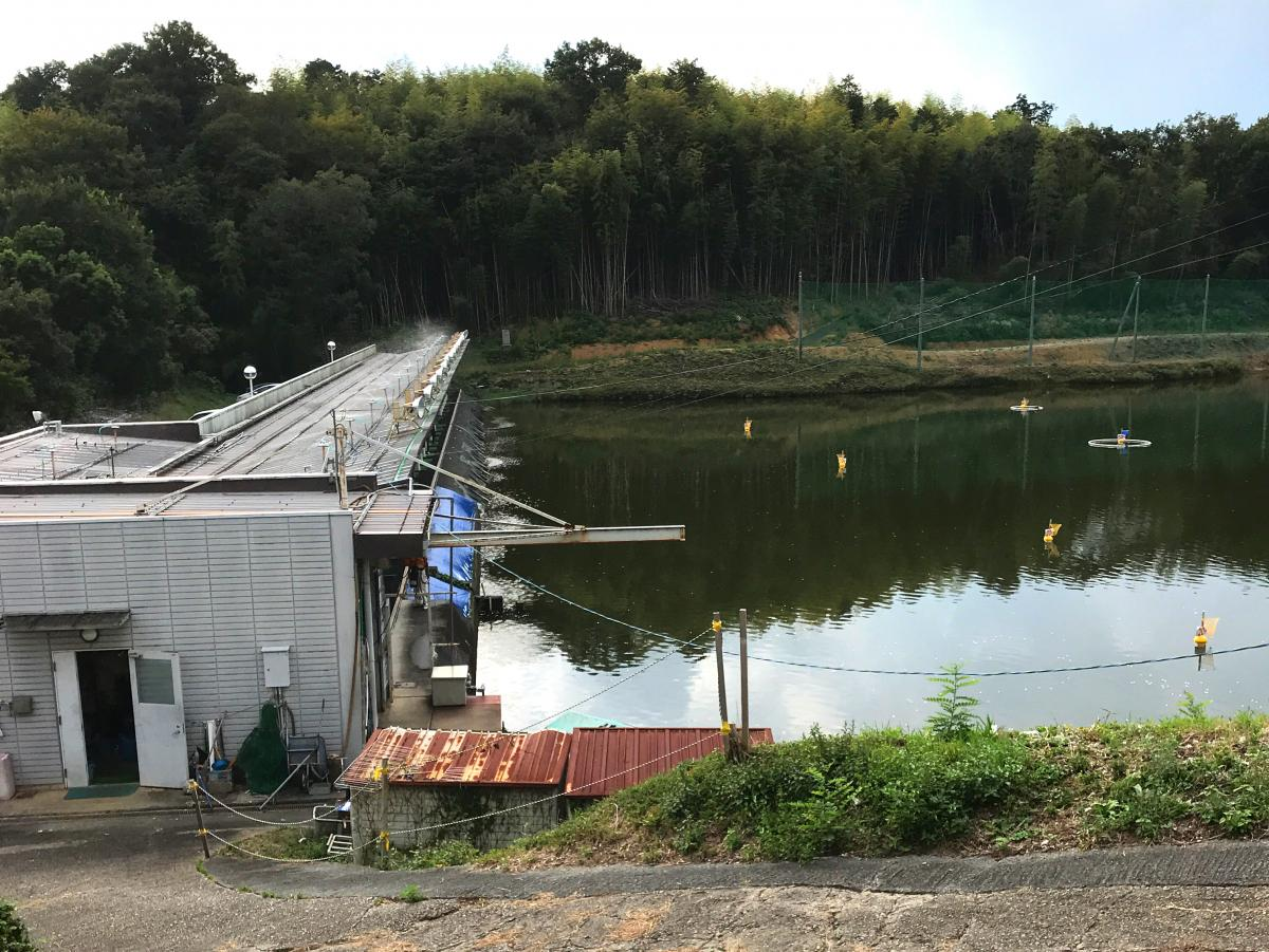 津山スポーツセンターゴルフ練習場