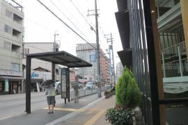 「上京区総合庁舎前」バス停留所