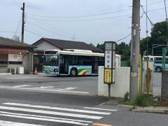 「船尾車庫」バス停留所