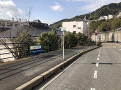 「高須小学校」バス停留所