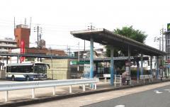 「地下鉄植田」バス停留所