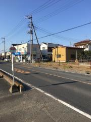 「吉屋入口」バス停留所
