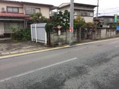 「双月町」バス停留所
