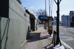 「福井大学前」バス停留所