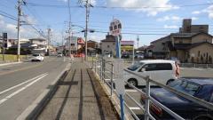 「園瀬橋」バス停留所