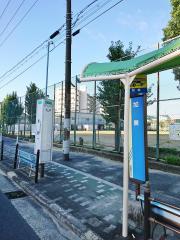「加美」バス停留所