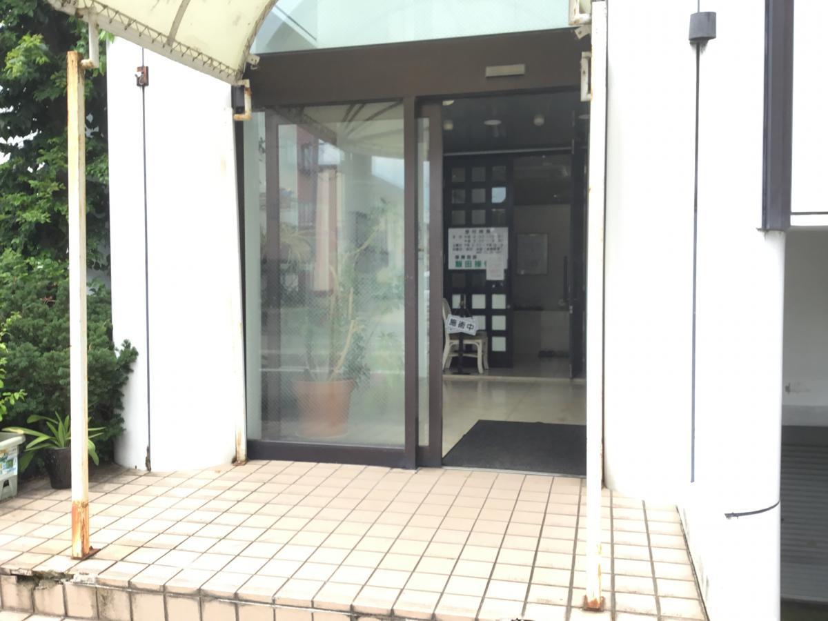飯田接骨院入口