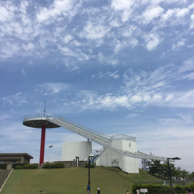 内灘総合公園円形展望台