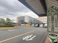 「武蔵野赤十字病院」バス停留所