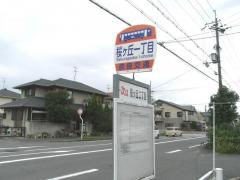 「桜ケ丘一丁目」バス停留所