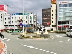 「王寺駅」バス停留所