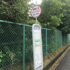 「菅原小学校前」バス停留所