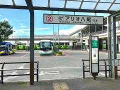 「JR久宝寺駅」バス停留所