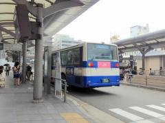 「京都駅」バス停留所