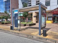 「博多ふ頭」バス停留所