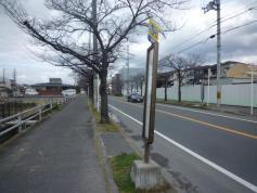 「稲葉町」バス停留所