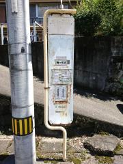 「梅ケ佐古」バス停留所