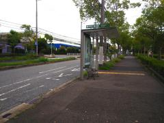 「西神工業会館前」バス停留所