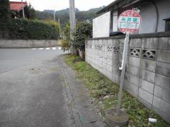 「糸井宿」バス停留所