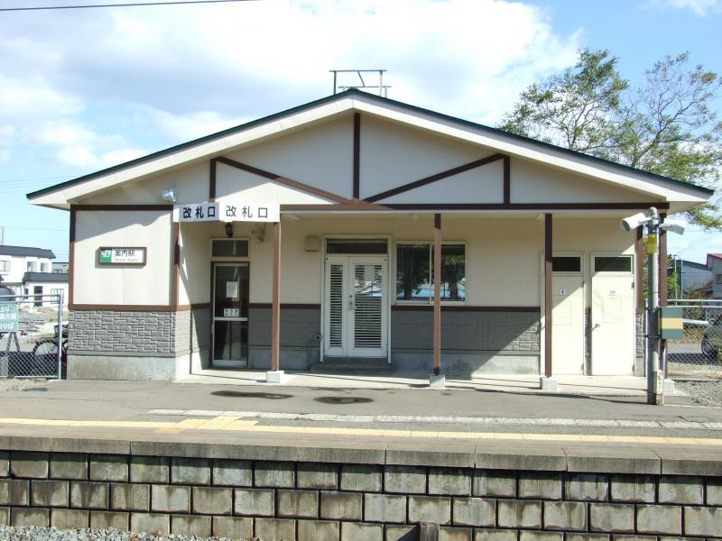 ユキサキナビ】JR津軽線奥内駅(青森市清水)