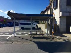 「エコス前」バス停留所