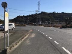 「宇積」バス停留所