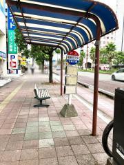 「橘通り5丁目」バス停留所