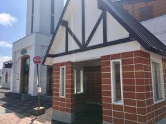 「歌志内市街」バス停留所