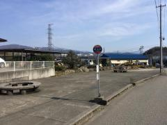 「田上口」バス停留所