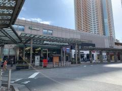 「市川駅」バス停留所
