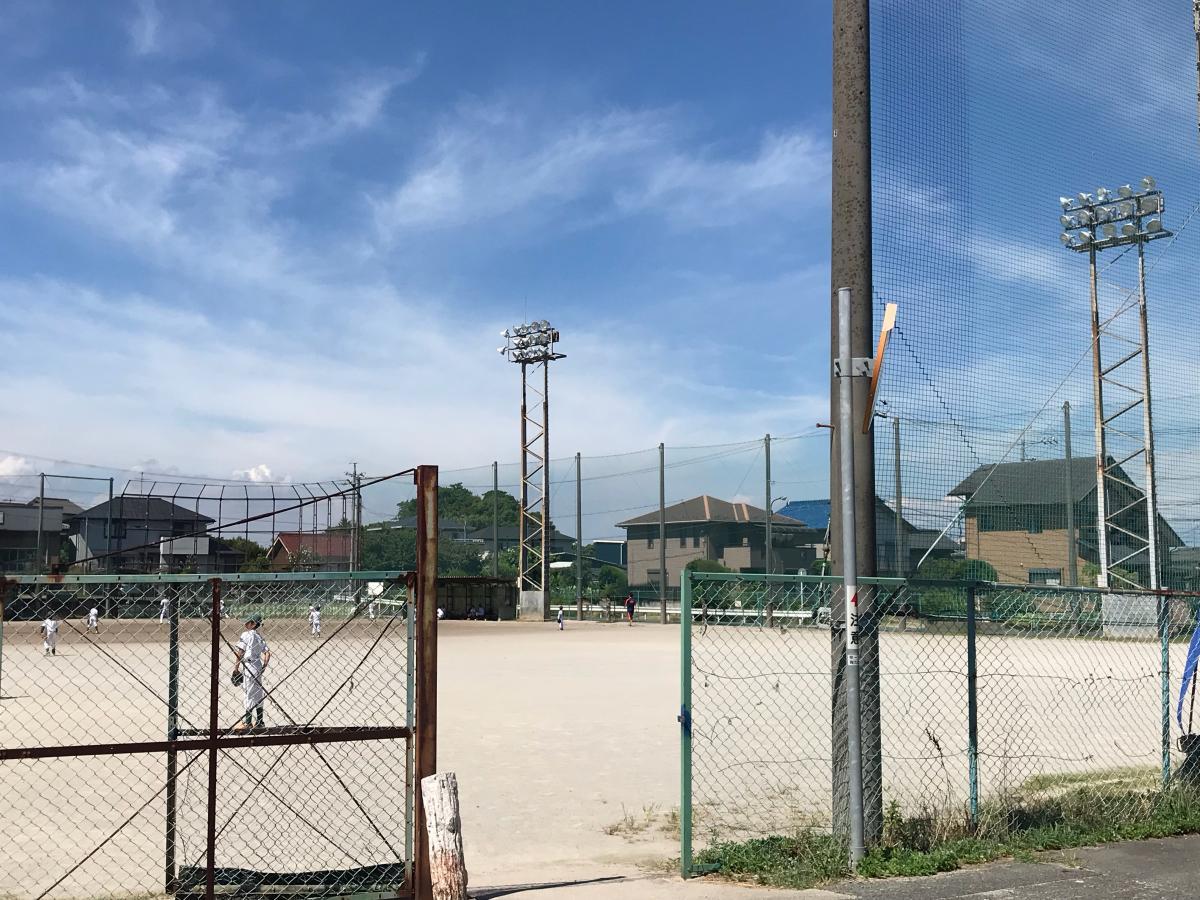 丸山公園野球場写真です