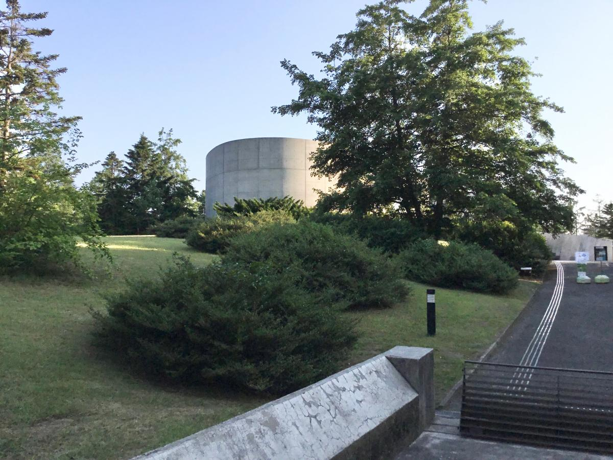 地底の森ミュージアムです。
